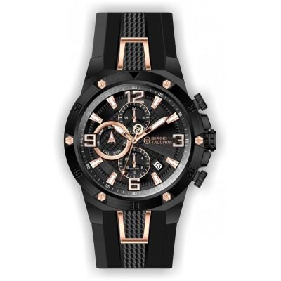 SERGIO TACCHINI DUAL TIME 45MM MEN'S WATCH ST.1.10138-5