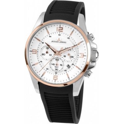 JACQUES LEMANS SPORT 44MM MEN'S 1-1799D