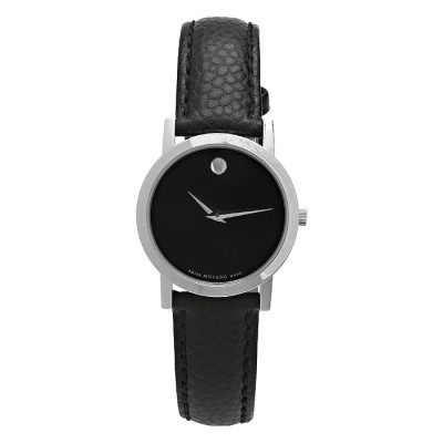 MOVADO MUSEUM QUARTZ 26MM LADIES WATCH 606087