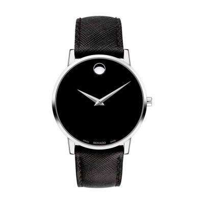 MOVADO MUSEUM CLASSIC QUARTZ 44MM MEN'S WATCH 607194