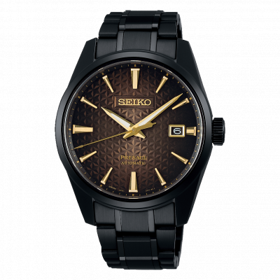 SEIKO PRESAGE SHARP EDGED SERIES AUTOMATIC LIMITED EDITION 39,3MM MEN'S WATCH SPB205J1