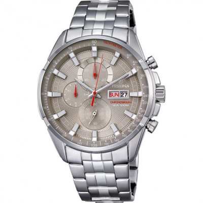 FESTINA CHRONOGRAPH 44.5MM MEN`S WATCH  F6844/2