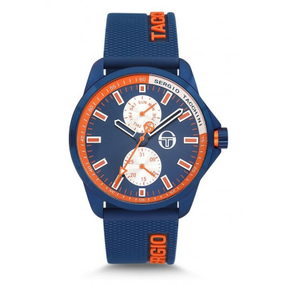 SERGIO TACCHINI STREAMLINE 46MM MEN`S WATCH ST.9.112.03