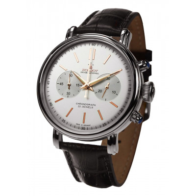 POLJOT INTERNATIONAL CLASSIC CHRONO HAND WINDING 43MM MEN'S WATCH 2901.1940211