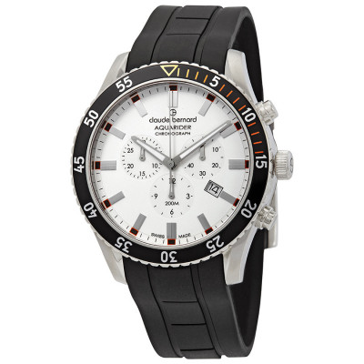 CLAUDE BERNARD AQUARIDER CHRONO 44MM MEN'S WATCH 10223 3NOCA AO