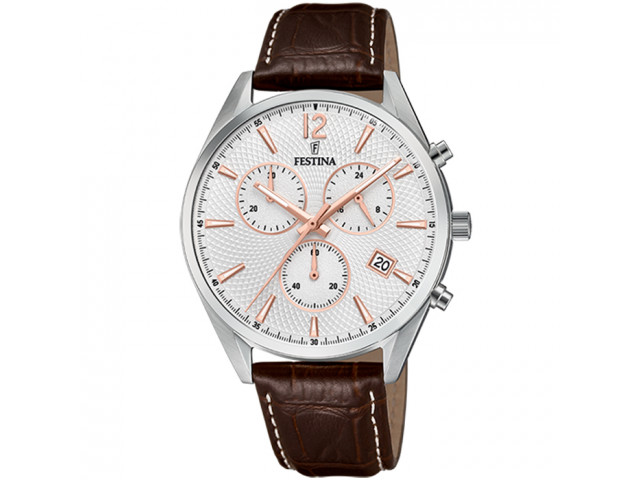FESTINA CHRONOGRAPH 42MM MEN`S WATCH F6860/5