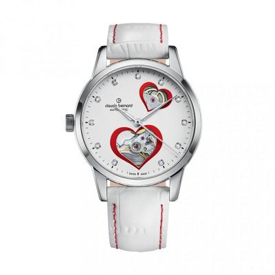 CLAUDE BERNARD AUTOMATIC OPEN HEART 35MM LADIES WATCH 85018 3 BPRON