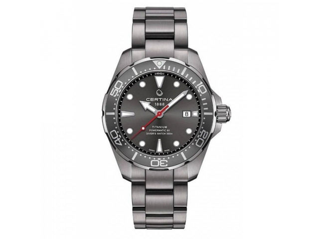 CERTINA DS ACTION DIVER POWERMATIC 80 43M MEN'S WATCH C032.407.44.081.00