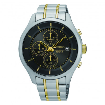 SEIKO SPORT CHRONOGRAPH QUARTZ 43MM MEN'S WATCH SKS543P1