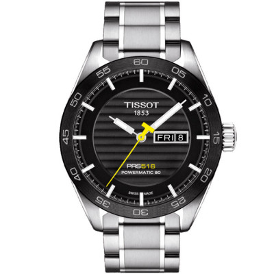 TISSOT PRS 516 POWERMATIC80 42MM MEN'S WATCH T100.430.11.051.00