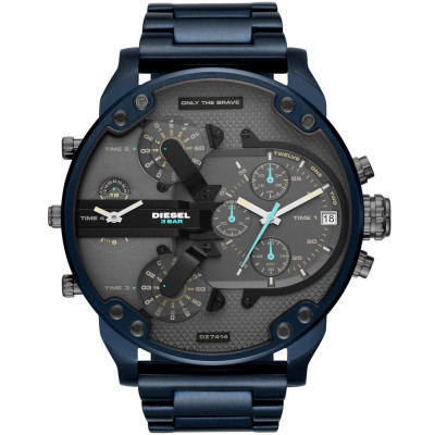 DIESEL THE DADDIES SERIES 57 MM MEN'S WATCH DZ7414