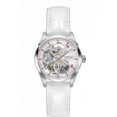 HAMILTON JAZZMASTER VIEWMATIC SKELETON 36MM LADY H32405871