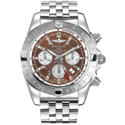 BREITLING CHRONOMAT GMT AUTOMATIC 47MM MEN'S WATCH AB041012/Q586/383A