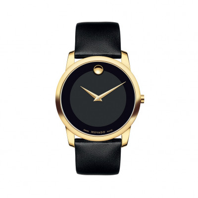 MOVADO MUSEUM QUARTZ 40MM MEN'S WATCH 606876