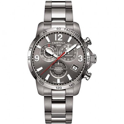 CERTINA DS PODIUM CHRONO TITANIUM 42MM MEN'S WATCH C034.654.44.087.00
