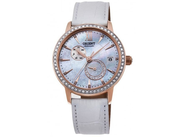 ORIENT CLASSIC SUN AND MOON 37 MM LADIES WATCH RA-AK0004A