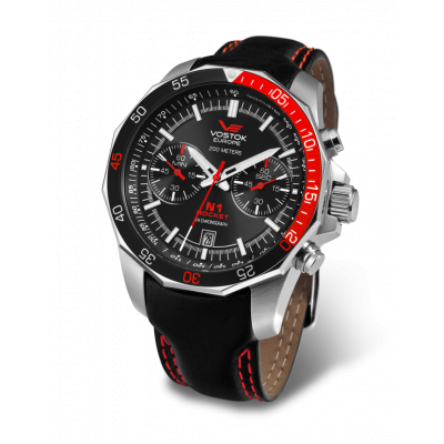 VOSTOK EUROPE ROCKET N-1 CHRONO QUARTZ 46ММ MEN'S WATCH 6S21-2255295