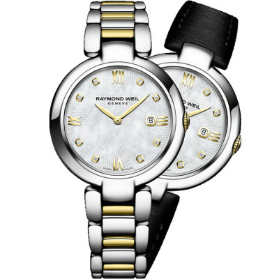 RAYMOND WEIL SHINE QUARTZ 32MM LADIES WATCH 1600-STP-00995