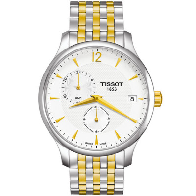 TISSOT TRADITION GMT QUARTZ  42MM MEN'S WATCH T063.639.22.037.00