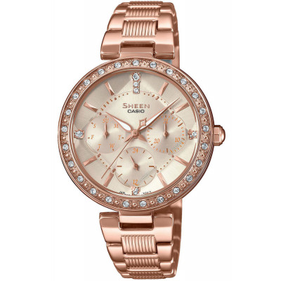 CASIO SHEEN SWAROVSKI EDITION SHE-3068PG-4AUER