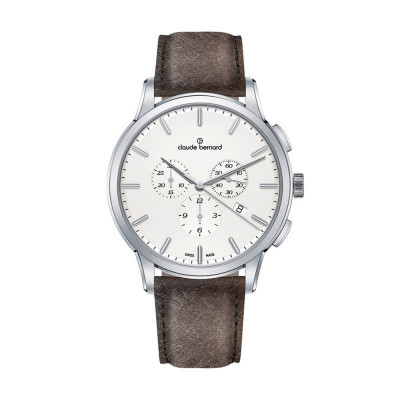 CLAUDE BERNARD CLASSIC CHRONO 42MM MEN'S WATCH 10237 3 AIN1