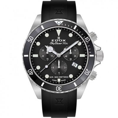 EDOX SKYDIVER 70'S CHRONOGRAPH 44MM MEN'S WATCH 10238 3NCA NI