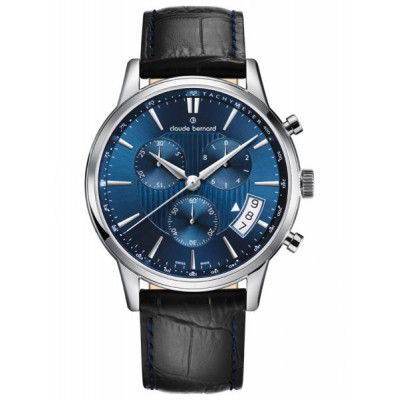 CLAUDE BERNARD CLASSIC CHRONO 41MM MEN'S WATCH 01002 3 BUIN