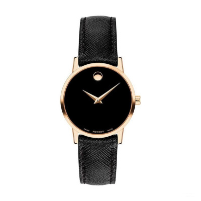 MOVADO MUSEUM QUARTZ 28MM LADY'S WATCH 607206