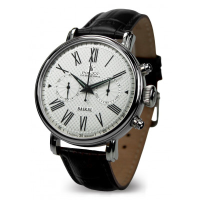 POLJOT INTERNATIONAL BAIKAL CHRONOGRAPH  HAND WINDING 43MM MEN'S WATCH  2901.1940911