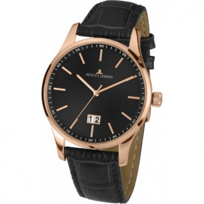JACQUES LEMANS CLASSIC 40 MM. MEN`S 1-1862E