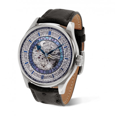 ALEXANDER SHOROKHOFF BABYLONIAN II MANUAL 46.5ММ  MEN'S WATCH LIMITED EDITION  300PIECES AS.BYL02