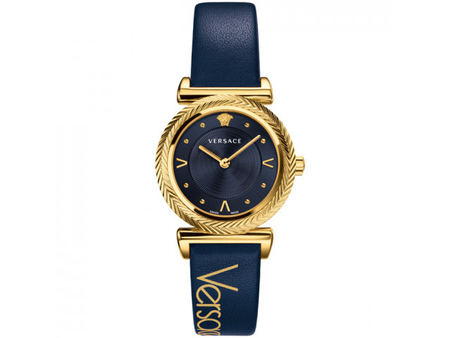 VERSACE V-MOTIF VINTAGE LOGO 35MM LADIES WATCH VERE002 18