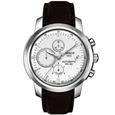 TISSOT PRC 200 CHRONOGRAPH AUTOMATIC 43.6MM MEN'S WATCH T014.427.16.031.00