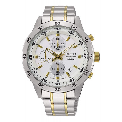 SEIKO SPORT CHRONOGRAPH QUARTZ 43MM MEN'S SKS643P1