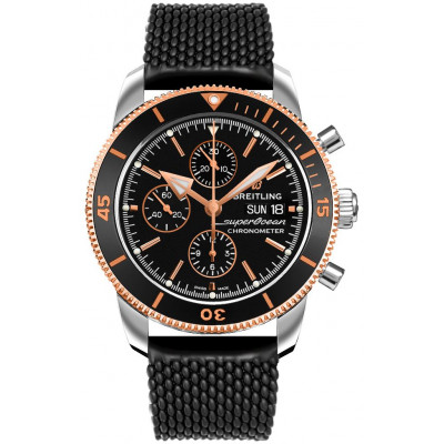 BREITLING SUPEROCEAN HERITAGE CHRONOGRAPH  44 MEN'S WATCH U13313121B1S1