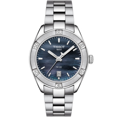 TISSOT PR 100  36ММ LADIES WATCH T101.910.11.121.00