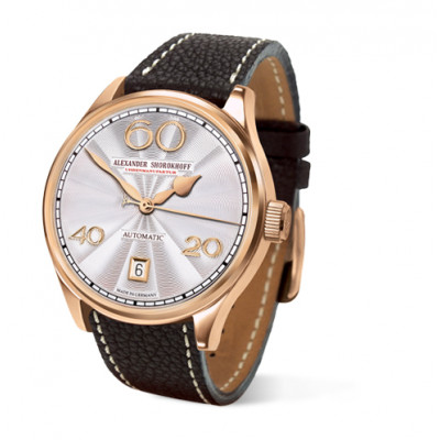 ALEXANDER SHOROKHOFF LADY AUTOMATIC GOLD 39MM LADIES WATCH AS.LA01-11G