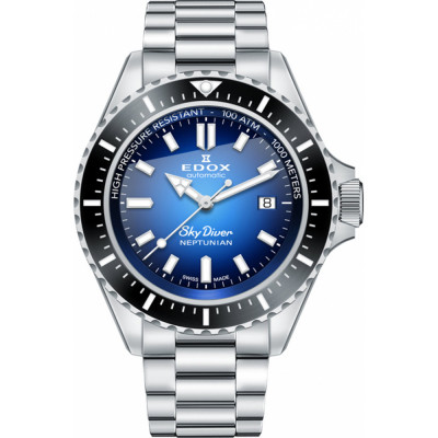 EDOX SKYDIVER NEPTUNIAN EDITION AUTOMATIC 44MM MEN'S 80120 3NM BUIDN