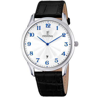 FESTINA RETRO 41MM MEN`S WATCH F6851/2