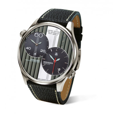 ALEXANDER SHOROKHOFF STRIPES AUTOMATIC 46.5MM MEN'S WATCH LIMITED EDITION 200PIECES  AS.DT01-2