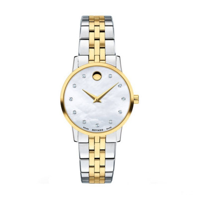 MOVADO MUSEUM QUARTZ 28MM LADY'S WATCH 607208