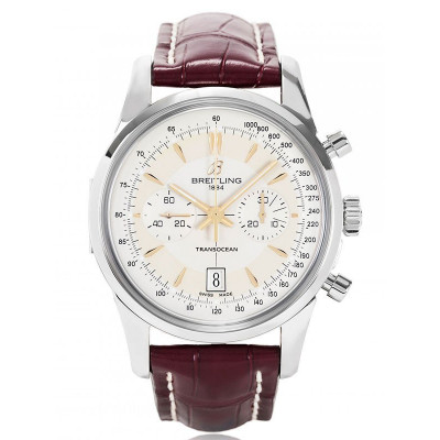 BREITLING TRANSOCEAN CHRONOGRAPH 43MM MEN'S WATCH 2000-PIECES LIMITED EDITION  AB015412