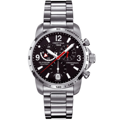 CERTINA DS PODIUM CHRONO GMT 42MM MEN'S WATCH C001.639.11.057.00