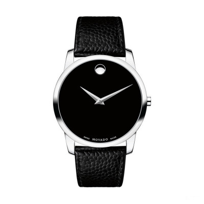 MOVADO MUSEUM QUARTZ 40MM MEN'S WATCH 607012