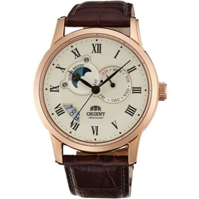 ORIENT CLASSIC AUTOMATIC SUN AND MOON 43ММ MEN'S WATCH FAK00001Y