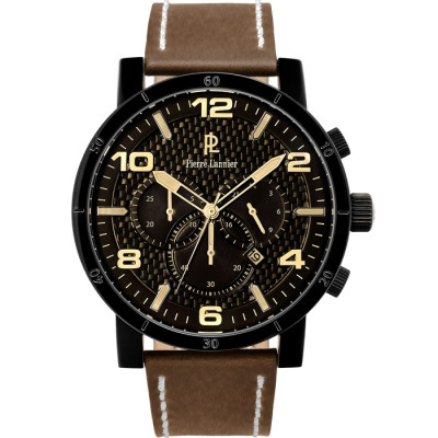 PIERRE LANNIER ELEGANCE STYLE 49MM MEN'S WATCH  237D434