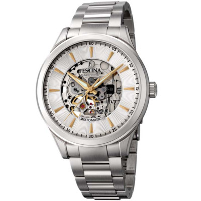 FESTINA SKELETON AUTOMATIC 42.8MM MEN`S WATCH F20536/2