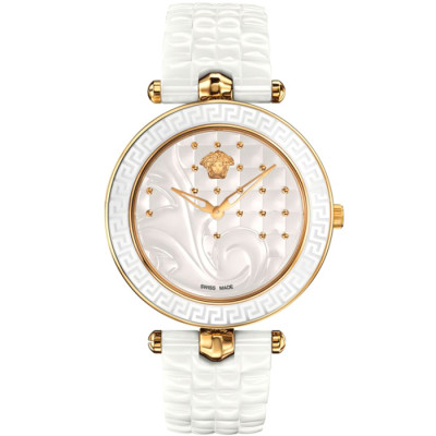VERSACE VANITAS CERAMIC 40MM LADIES WATCH VAO03 0016
