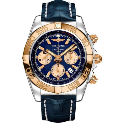 BREITLING CHRONOMAT 44 STEEL&GOLD  MEN'S WATCH CB0110121C1P1