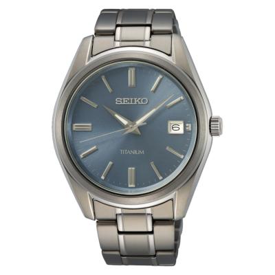 SEIKO CLASSIC TITAN  40MM MEN'S WATCH SUR371P1